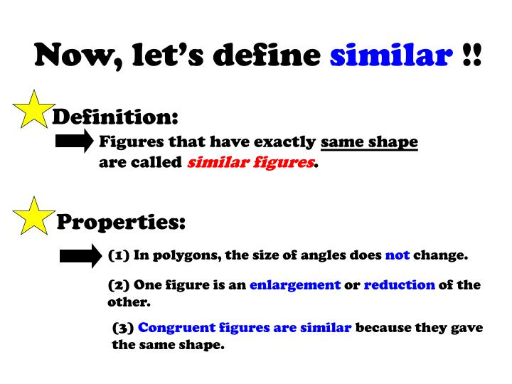 Now, let's define