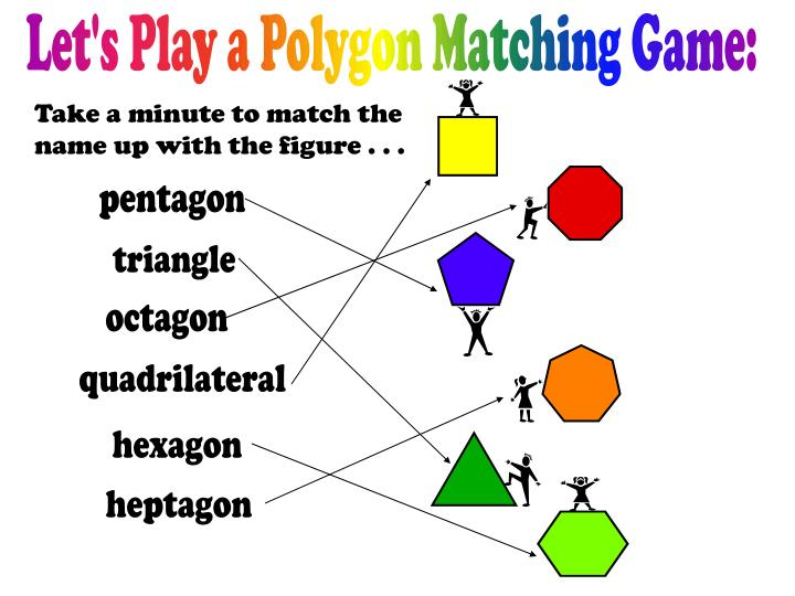 Let's Play a Polygon Matching Game: