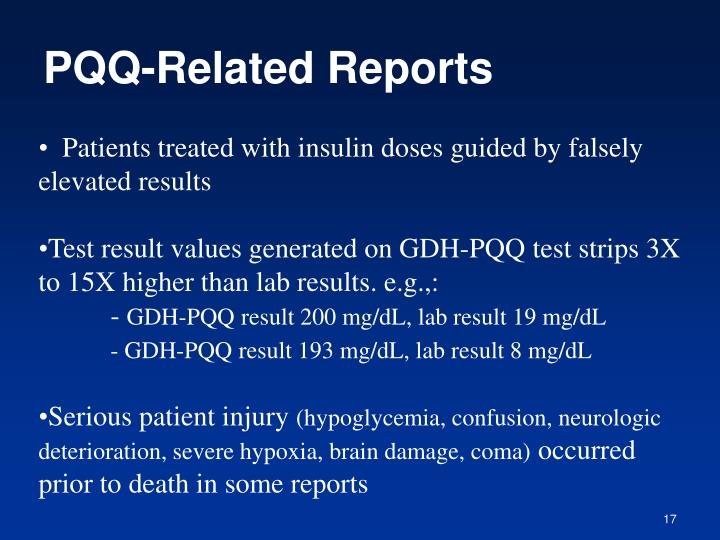 PQQ-Related Reports