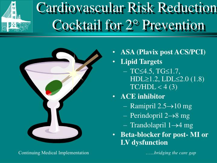 Cardiovascular Risk Reduction