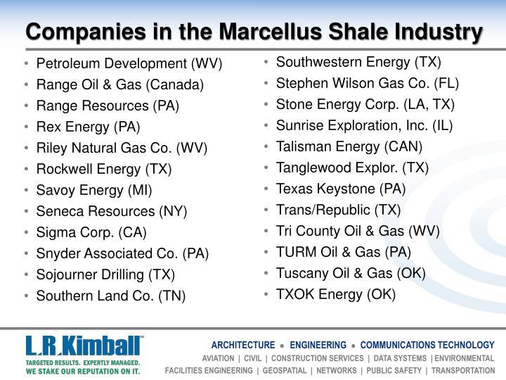 Petroleum Development (WV)