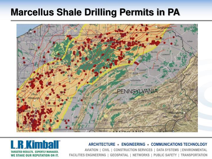 Marcellus Shale Drilling Permits in PA