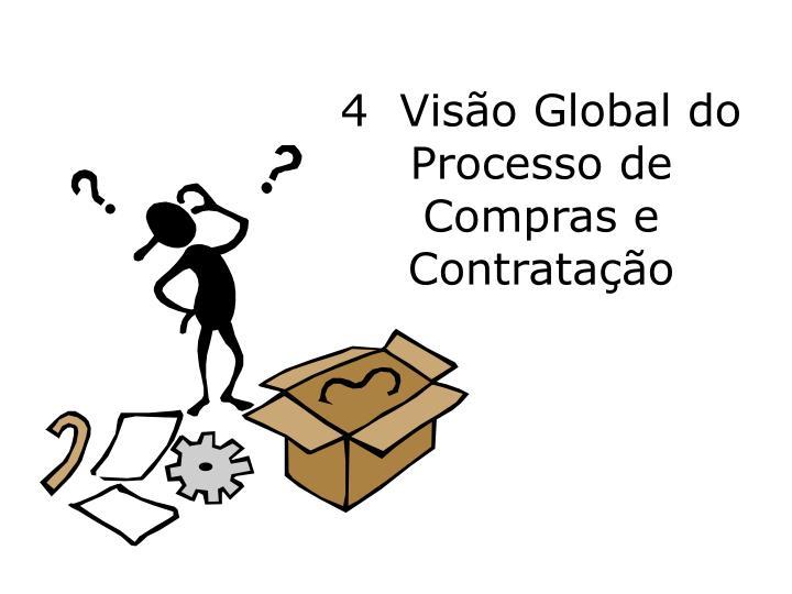 4  Visão Global do Processo de Compras e Contratação