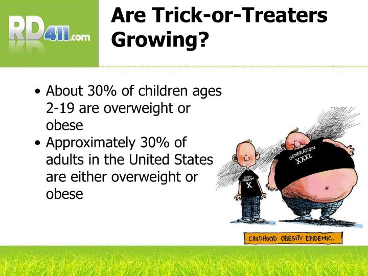 Are Trick-or-Treaters Growing?