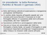 un precedente la bolla romanus pontifex di niccol v gennaio 1454