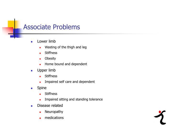 Associate Problems