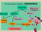 the concubine s children characters