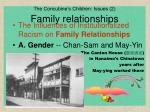 the concubine s children issues 2 family relationships
