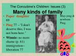 the concubine s children issues 3 many kinds of family