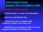 contaminacion radiactiva interna cri1