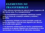 elementos no transferibles1