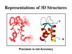 representations of 3d structures