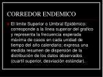 corredor endemico1