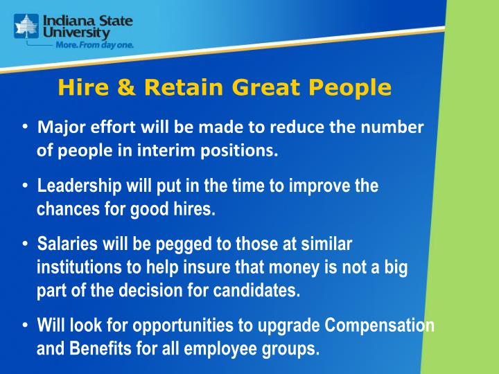 Hire & Retain Great People