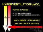 hyperventilation paco 21