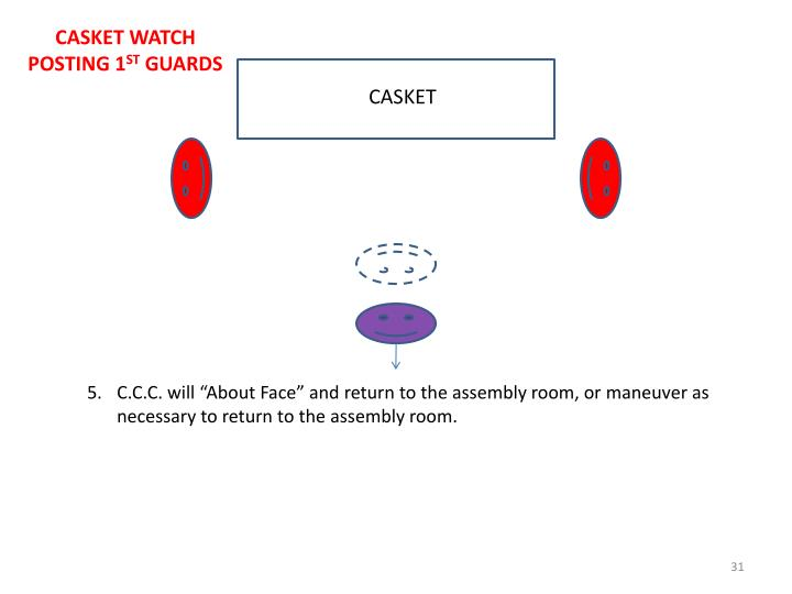 CASKET WATCH