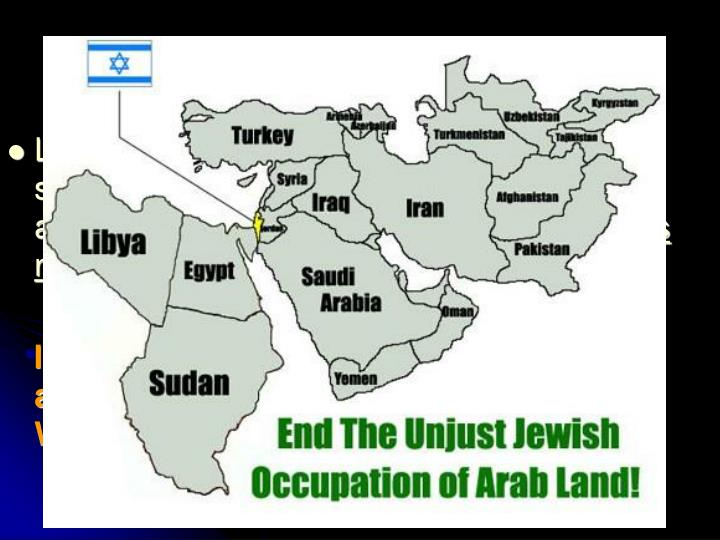 No Room For Israel