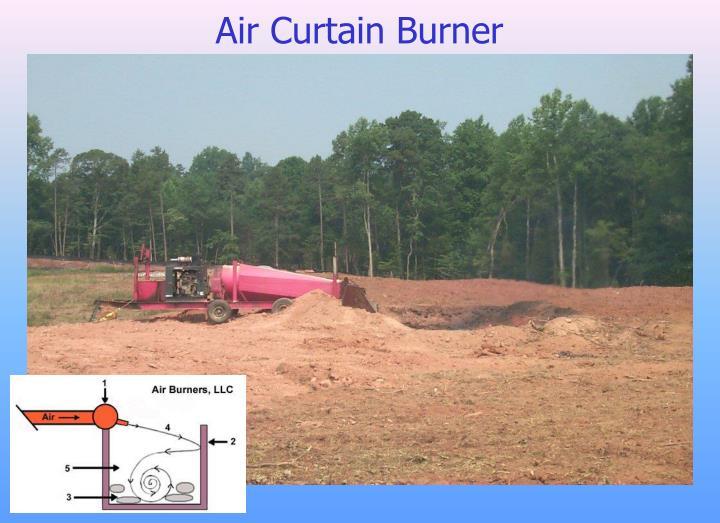 Air Curtain Burner