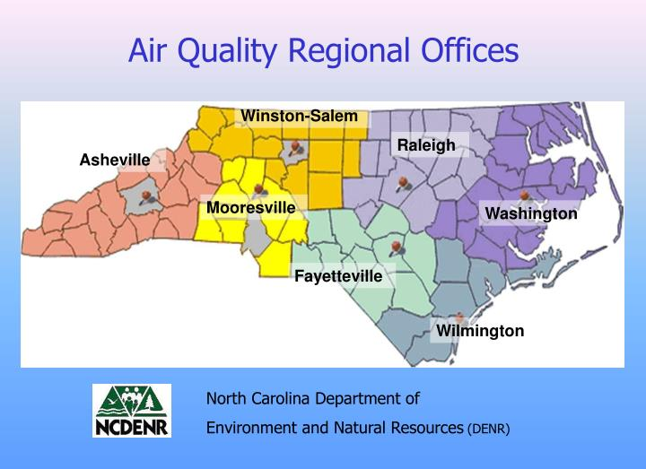 Air quality regional offices