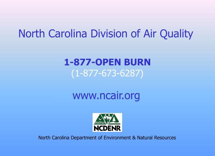 North Carolina Division of Air Quality