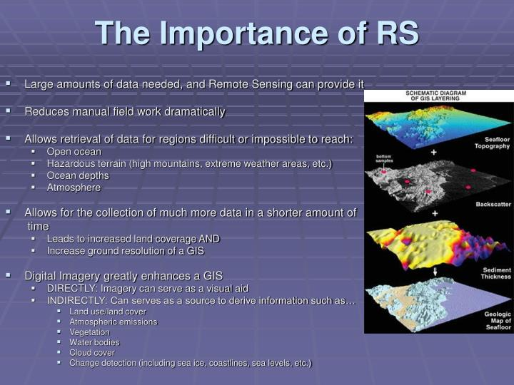 The Importance of RS