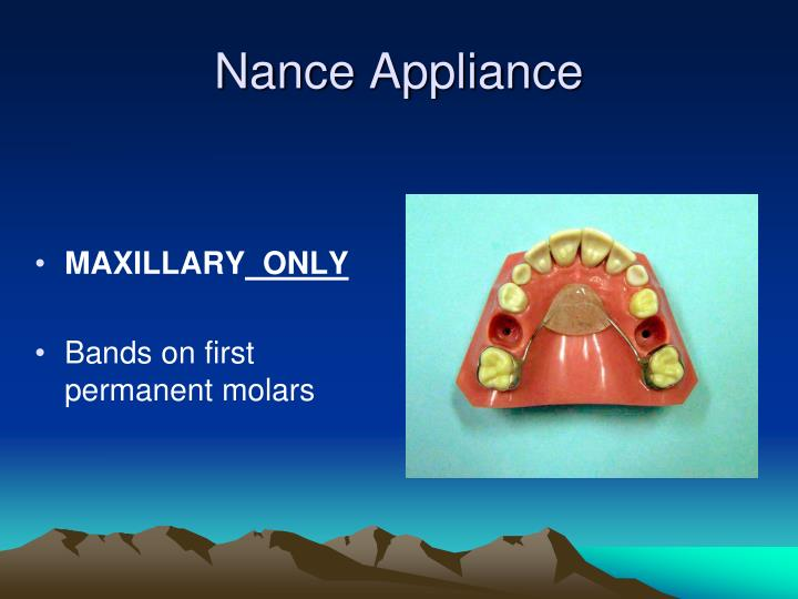 Nance Appliance