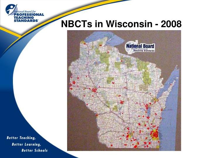 NBCTs in Wisconsin - 2008