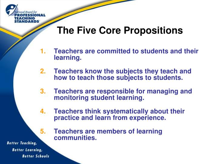 The Five Core Propositions