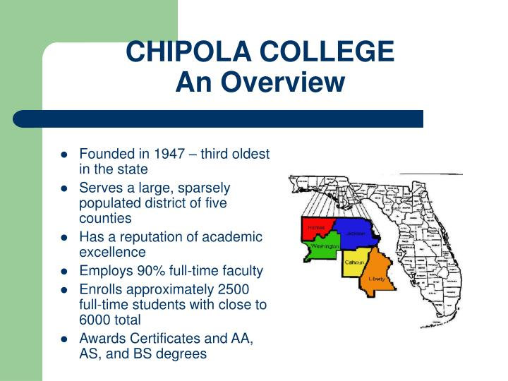 Chipola college an overview