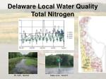 delaware local water quality total nitrogen