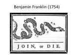 benjamin franklin 1754
