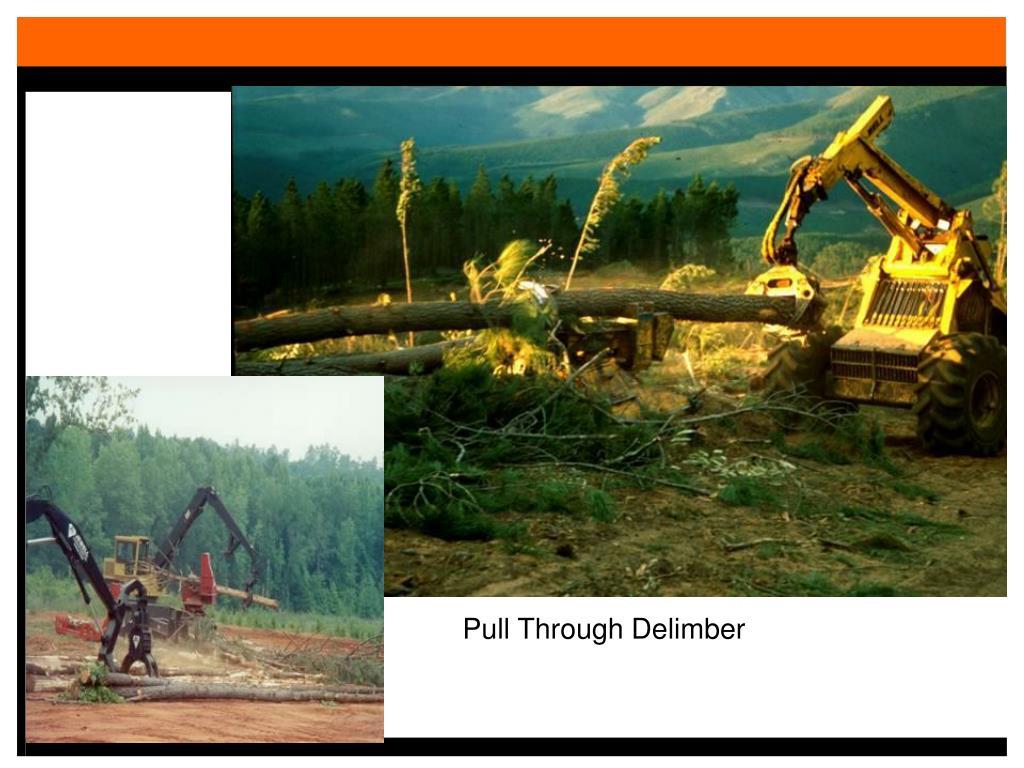PPT - Mechanized Logging Methods PowerPoint Presentation