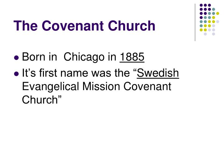The Covenant Church