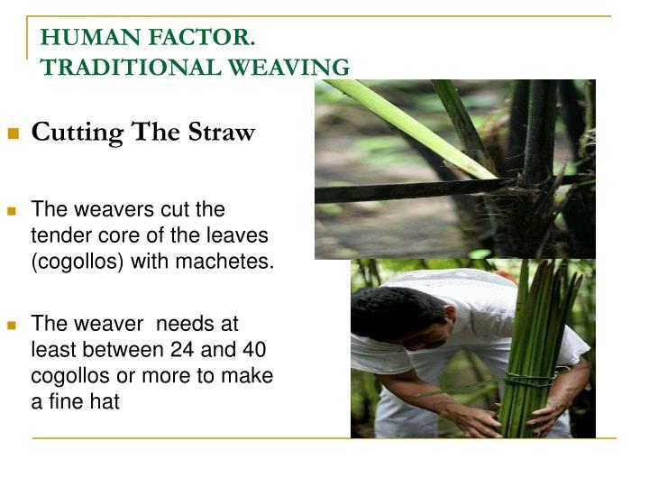 Cutting The Straw