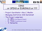 i3ns or spin3 or euronus or