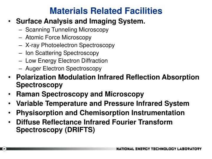 Materials Related Facilities