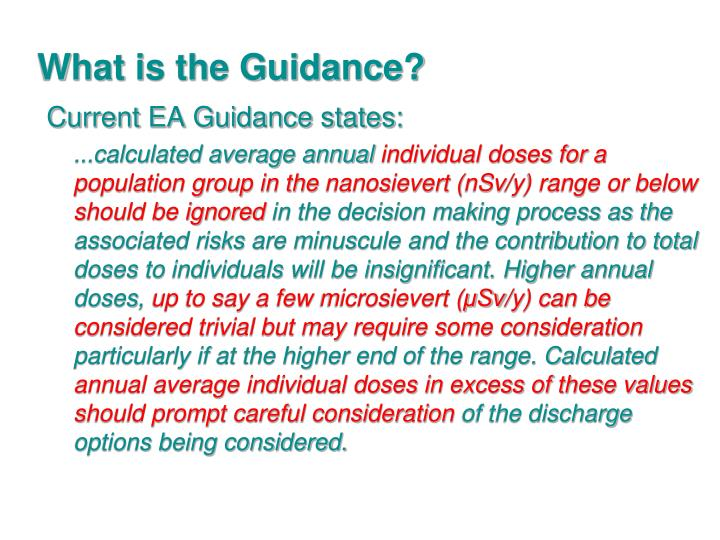 What is the Guidance?