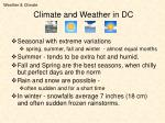 climate and weather in dc
