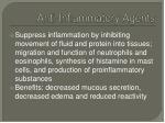 anti inflammatory agents
