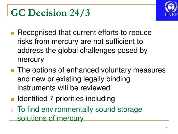 GC Decision 24/3