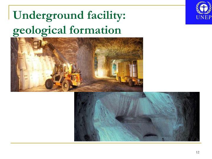 Underground facility: