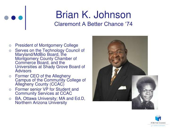 Brian K. Johnson