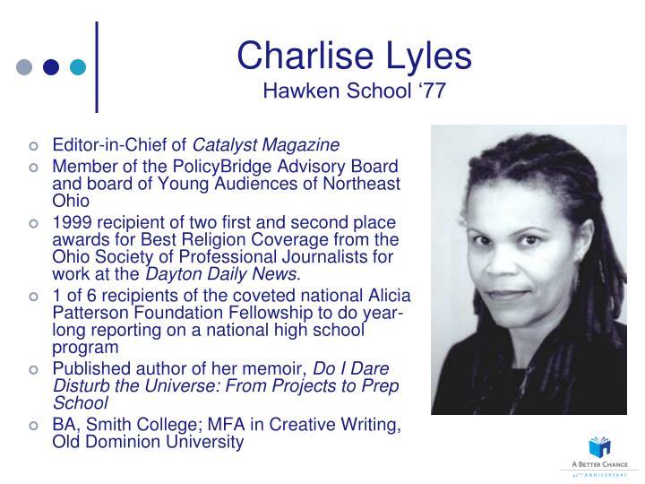 Charlise Lyles