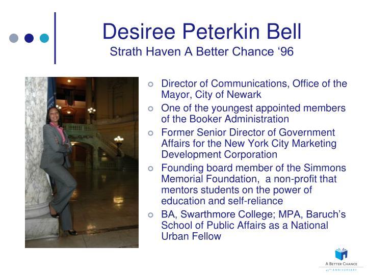 Desiree Peterkin Bell