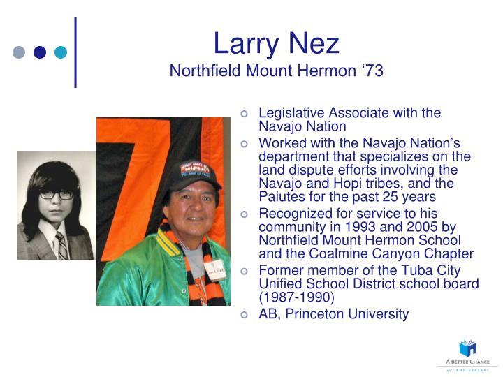 Larry Nez