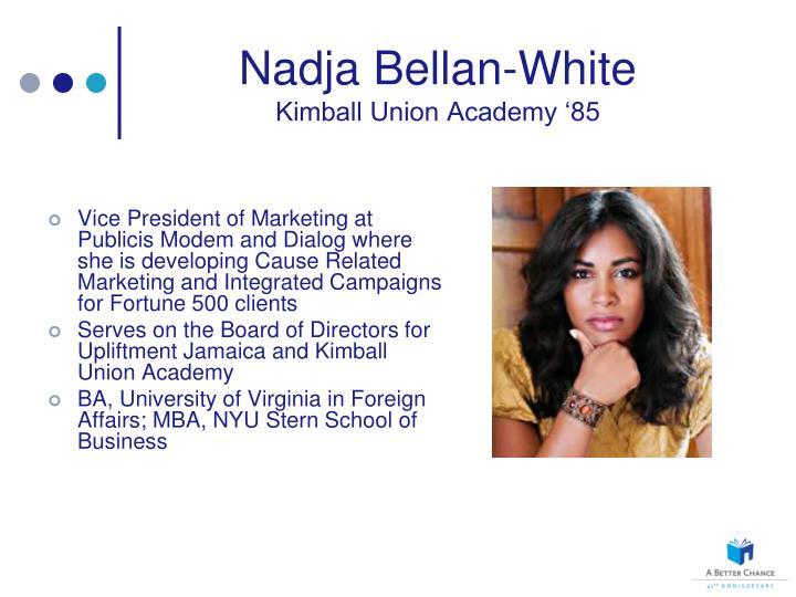 Nadja Bellan-White