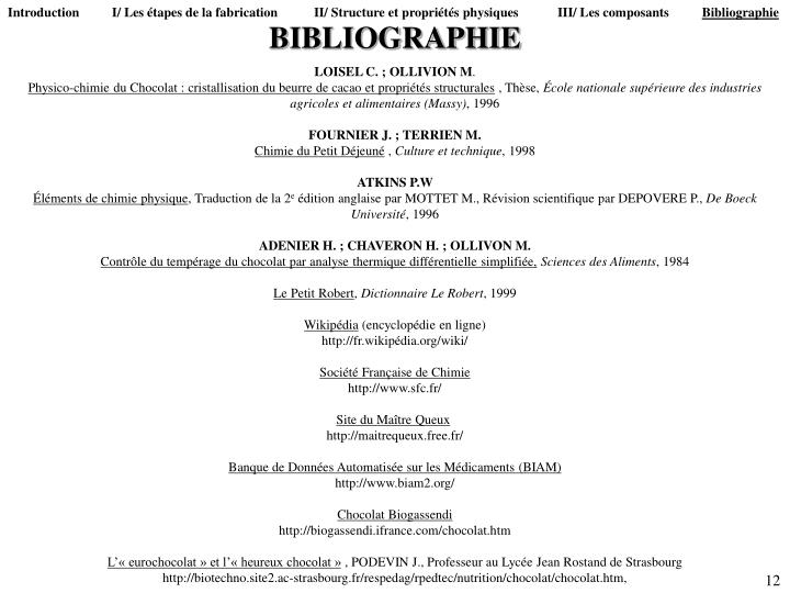 Introduction          I/ Les étapes de la fabrication           II/ Structure et propriétés physiques            III/ Les composants