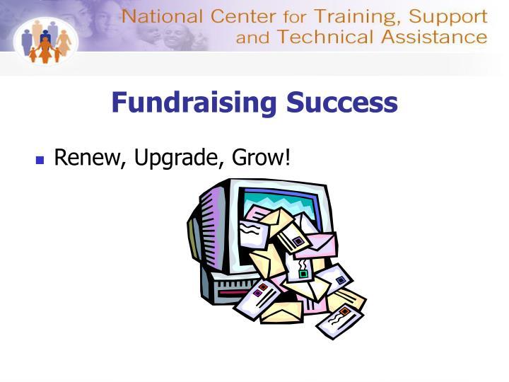 Fundraising Success