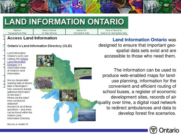 Land Information Ontario