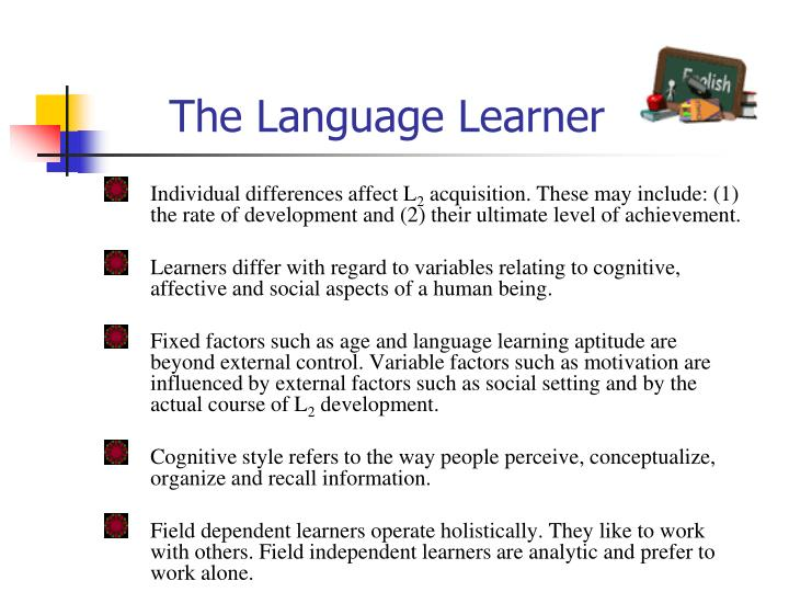 The Language Learner